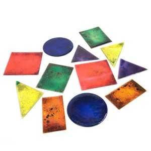 Glitter gelshapes - set van 12