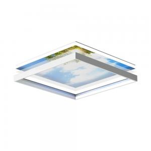 LED plafondpanelen 60 x 60 cm - set van 6